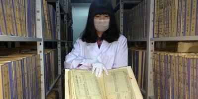 中國で舊日本軍の公文書が新たに発見