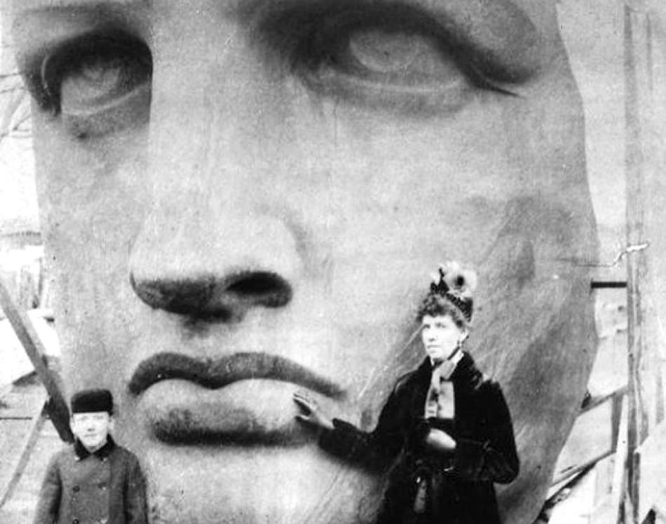 古い写真で米国の「自由の女神像」の建設過程を見る_中国網_日本語