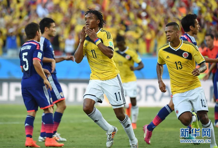 (世界杯·进球时刻)(6)足球——小组赛C组:夸德拉多罚入点球