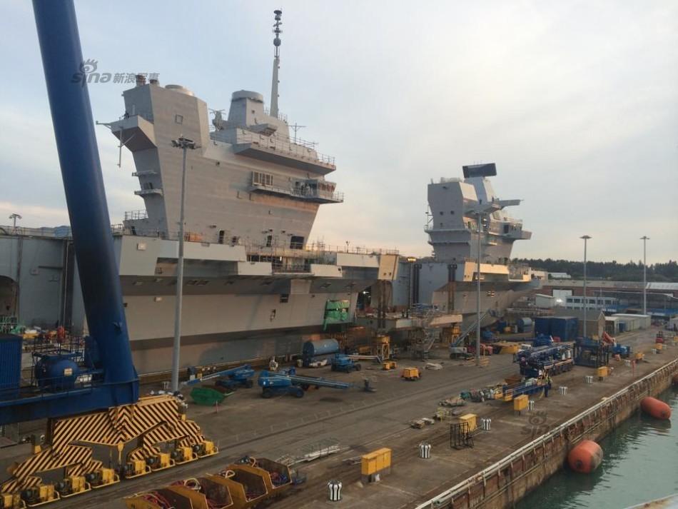 英海軍の史上最大の空母が4日に進水コメント