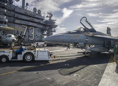 米日印の海上合同演習、中国の海洋進出をけん制