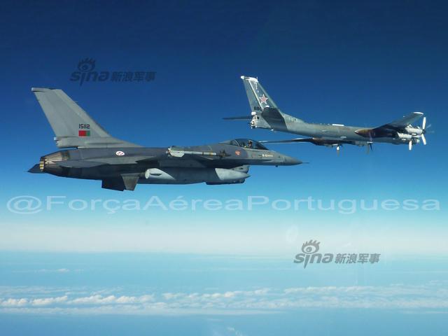 ポルトガル空軍、F-16AMがTu-95...