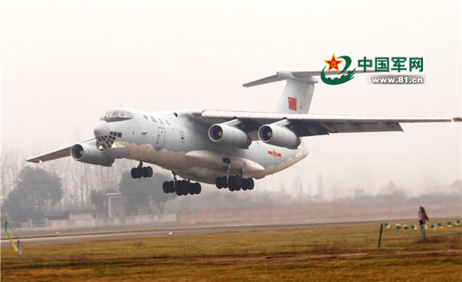 中国空軍の報道官の申進科大佐は12月7日夜、中央軍事委員会の許可を経て... 中国空軍の大型輸送