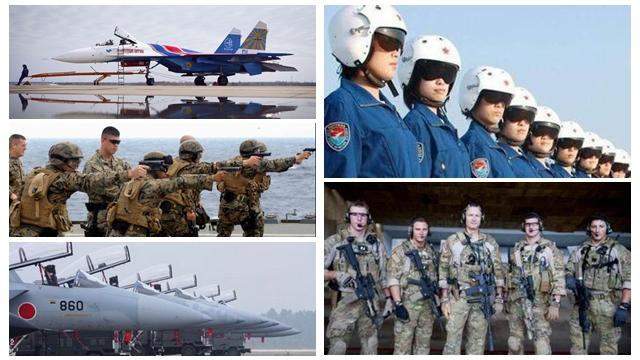 世界の空軍力 中国4位、日本5位の結果に=米誌