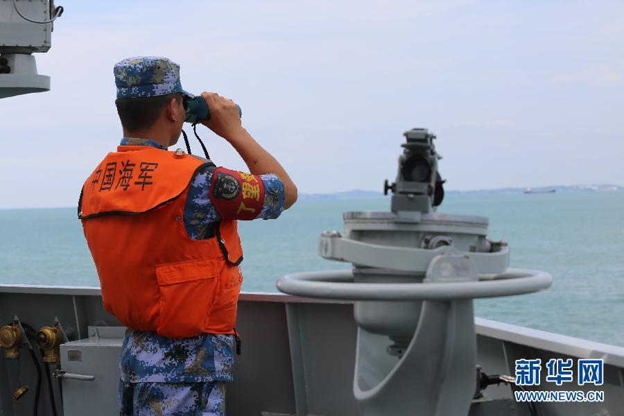 中国とシンガポール、初の海上合同演習を終了