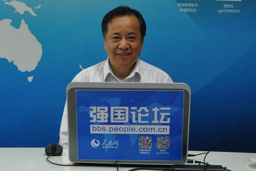 清华大学当代国际关系研究院副院长、博士生导师刘江永教授 (李慧 摄)