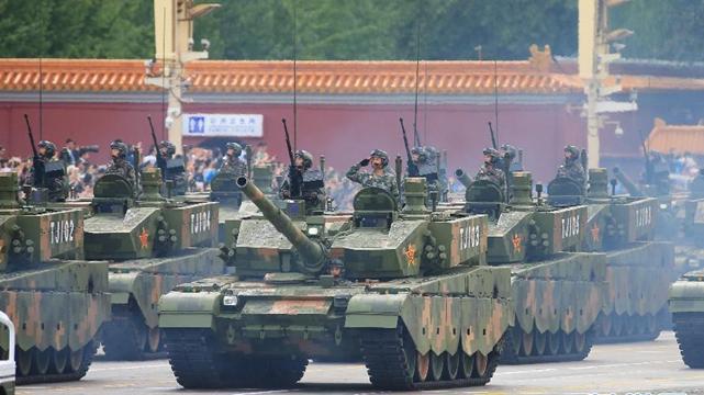 抗戦勝利70周年軍事パレード、リハーサルで熟練度を磨く