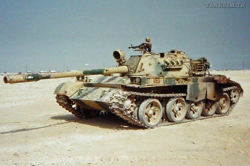 中国製の戦車、湾岸戦争で大破_...