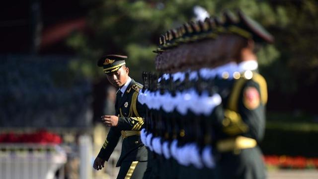 中国人民抗日戦争勝利70周年記念大会が北京で開催 受閲部隊の準備が整う