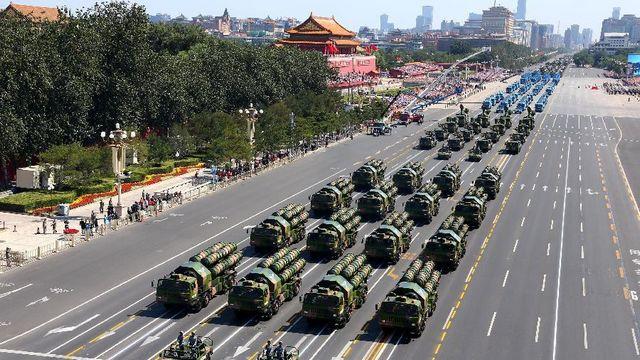中国人民抗日戦争・世界反ファシズム戦争勝利70周年記念式典