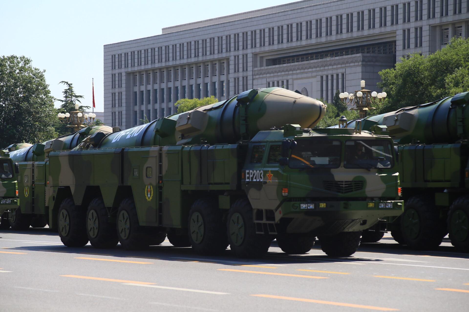 「空母キラー」、DF-21D対艦弾道ミサイル
