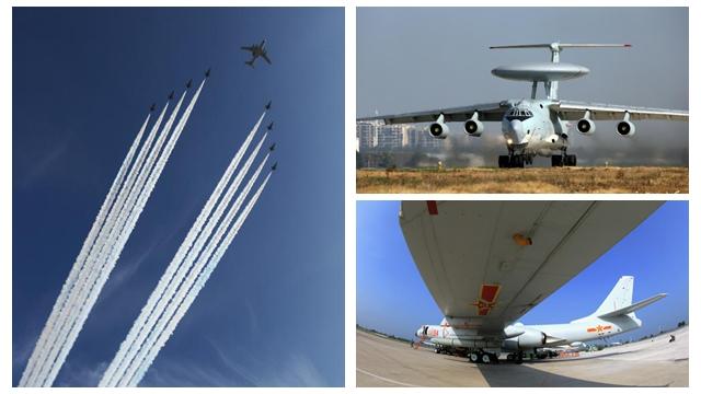近距離で眺める「空のタカ」 閲兵式での空中梯団を回顧
