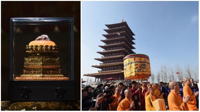 釈迦牟尼仏頂骨舎利の奉安式が南京で行われる_中国網_日本語