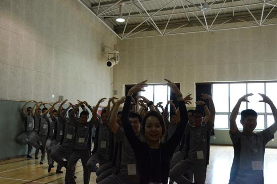 スタイル抜群女性博士、韓国軍兵士にバレエを教える_中国網_日本語 <!-- a { lin