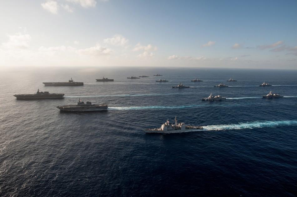 米日の空母大艦隊、合同演習で武力誇示_中国網_日本語