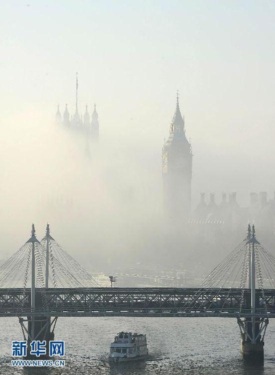 京城雾霾史上罕见 浓度逼近1952伦敦烟雾事件