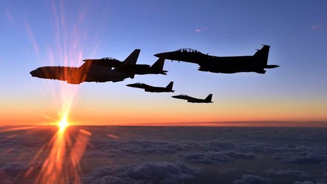 韓国空軍、新年も領空を巡航コメント