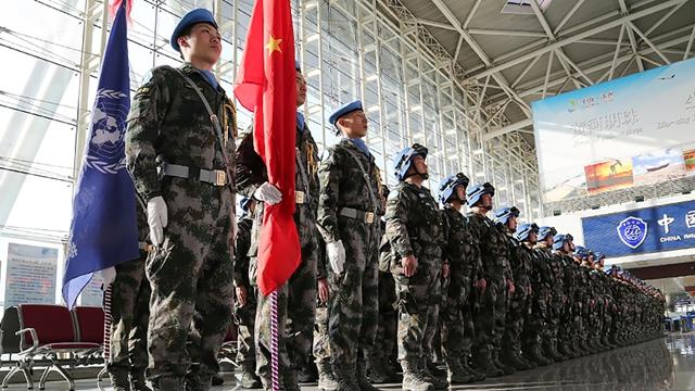 南スーダンの平和維持部隊、中国初の歩兵団の生活に迫る