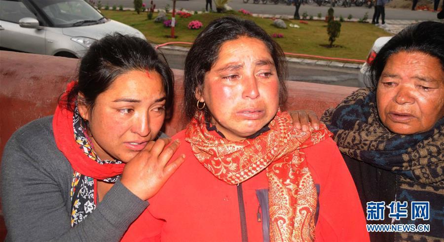 (国际)(2)载有23人的尼泊尔飞机确认坠毁