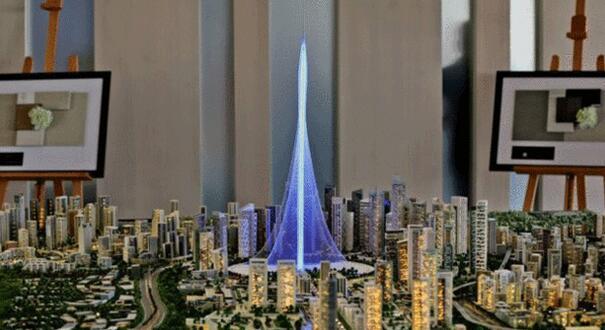 英BBCの4月10日の報道によると、ドバイに新しい高層ビルの建設を計画しているデベロッパーは、そのタワーの高さが世界最高層ビルであるブルジュ・ハリファを上回ると