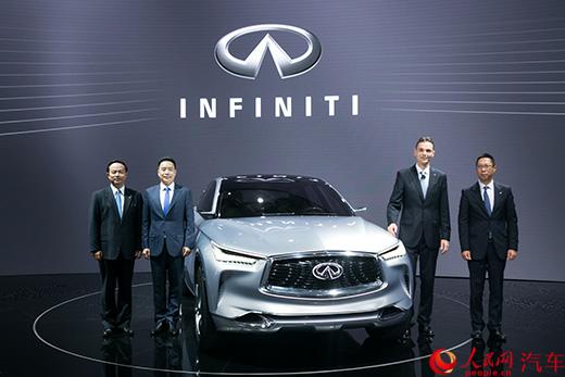 インフィニティ、新型コンセプトカーを世界初公開 新6車種を今年投入へ