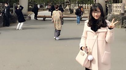 中國人留學生?周林萱さんの日本での大學入試體験