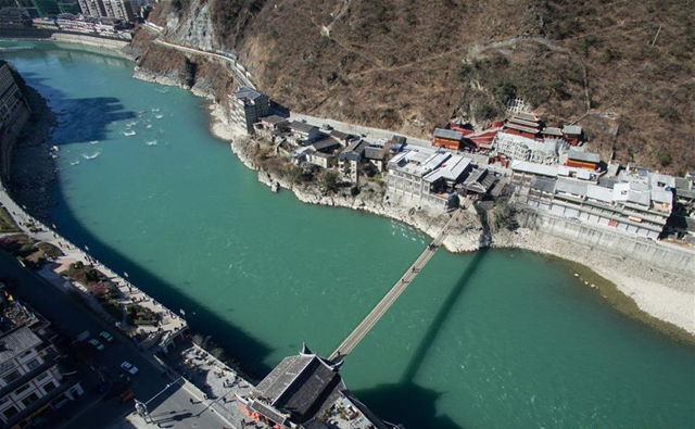 大渡河と盧定橋を訪ねて 世界の軍事史の奇跡を体験