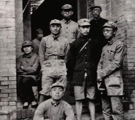 紅軍の陜北到達後の旬邑県での鄧小平と一部の政治担当幹部