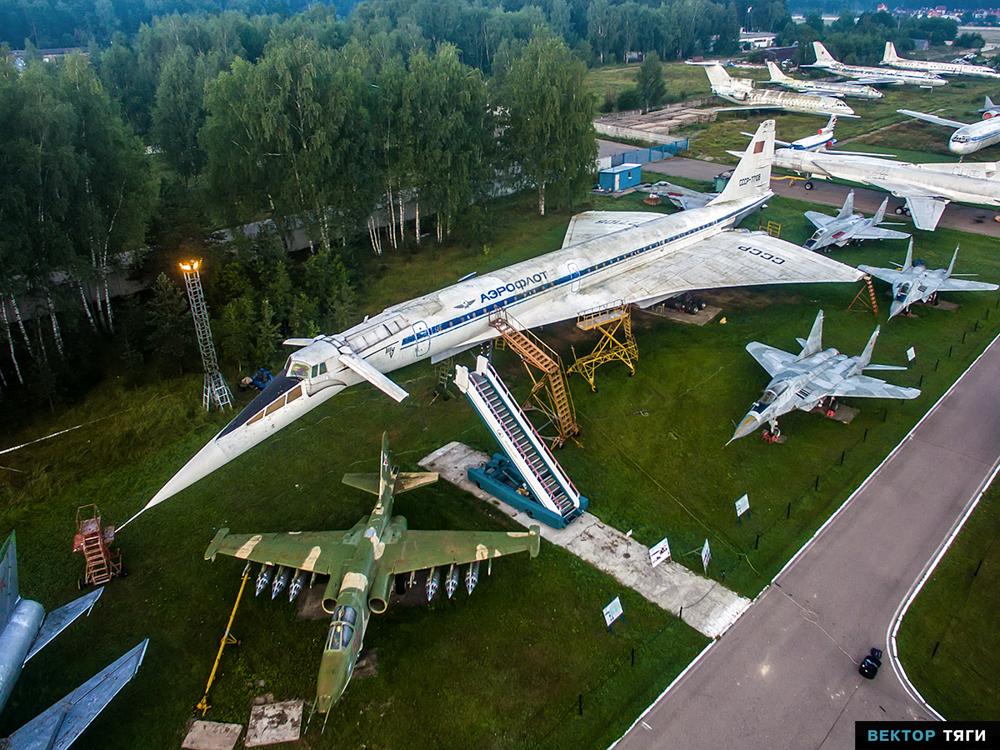 ロシアのモニノ空軍博物館、大国...