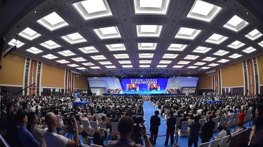 (中国—东盟博览会)(1)第十三届中国—东盟博览会开幕