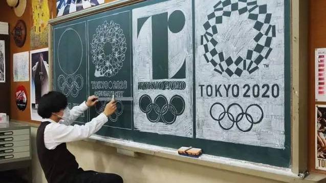 日本の美術教師、チョークアートで学生に人気コメント