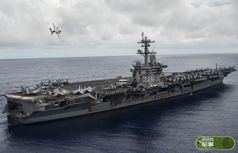 米空母艦載機、フィリピン海に到着