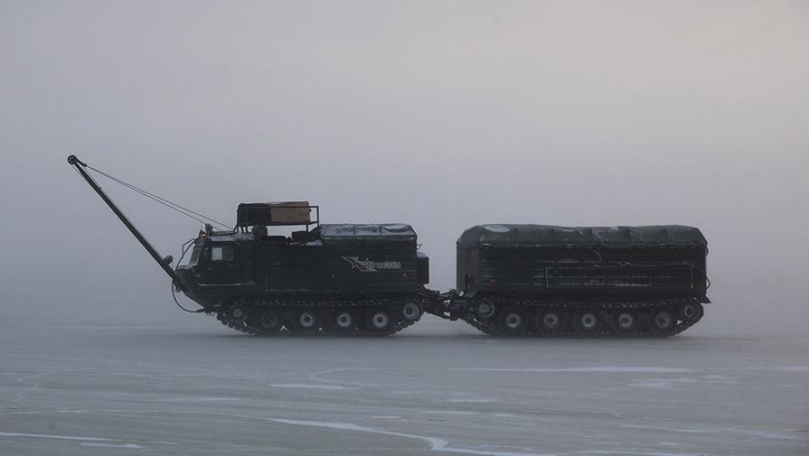 ロシア軍、北極圏で武器装備の試験を開始