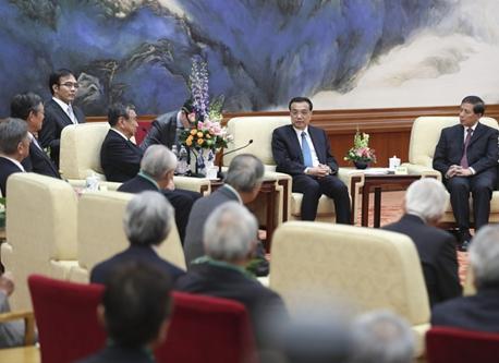 李克強総理が日本経済界訪中団と会談「中日関係の発展を推進