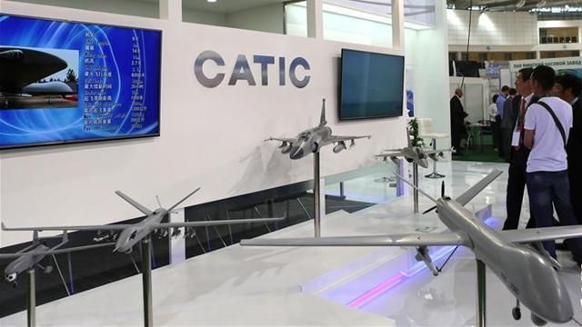 中国の無人機、ベラルーシの展示会に登場