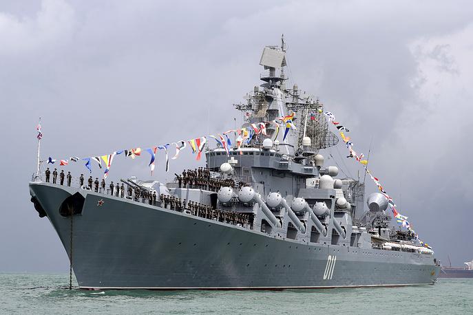 ロシア海軍、太平洋艦隊の実力を...