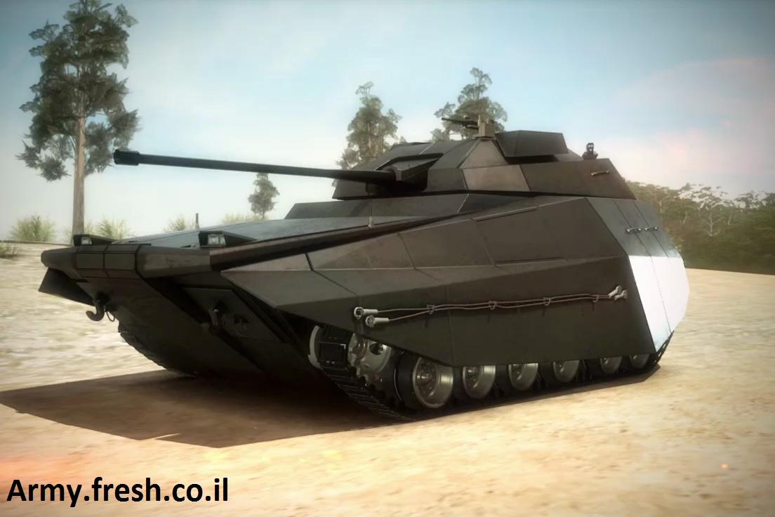 イスラエルの新型装甲車 SF感あ...