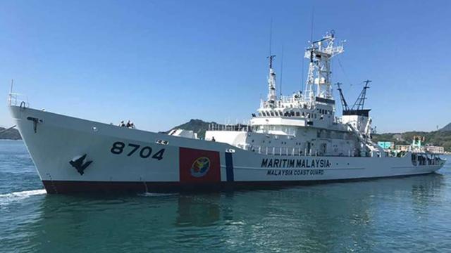 日本の中古巡視船、マレーシアに到着