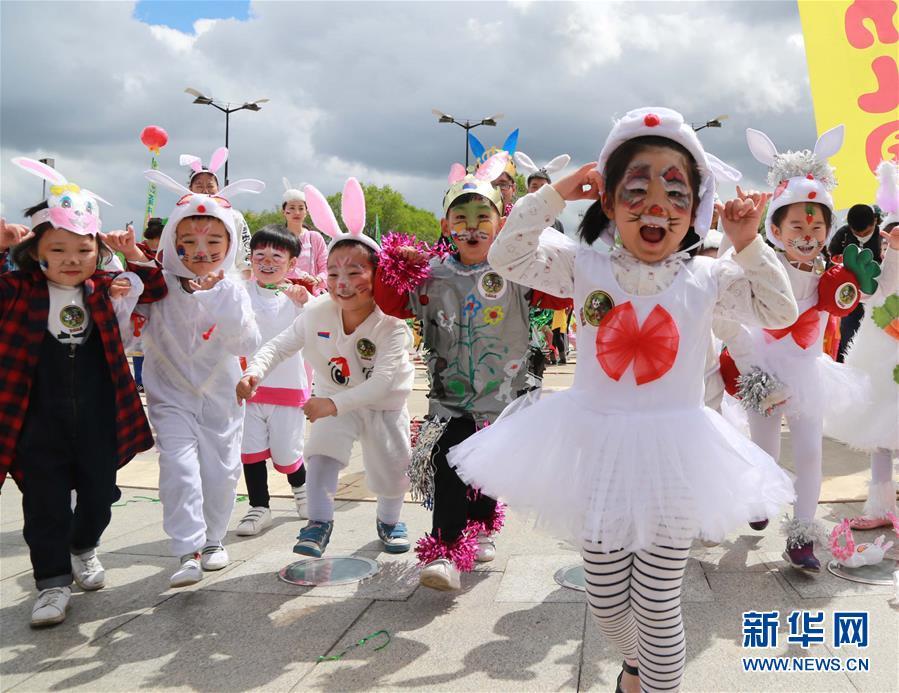 中ロの児童、6月1日子供の日を共に祝うコメント