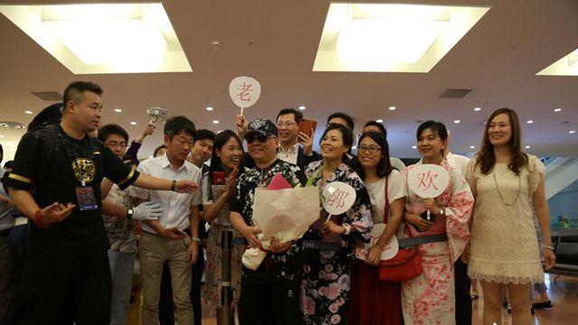 中国の人気コメディアン郭徳綱が日本で初公演