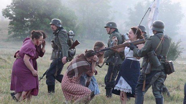 ベラルーシの市民、第二次大戦の光景を再現