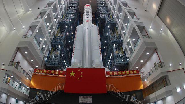 2機目の長征5号ロケット、来月上旬に打ち上げへ