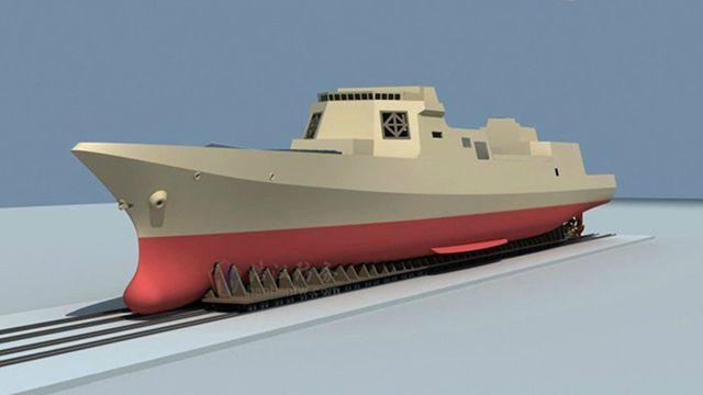 055型駆逐艦、間もなく進水か