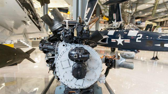 米製航空エンジンの美を実感
