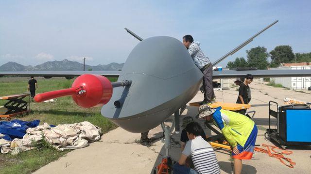 中国量産型「彩虹5」無人機、初飛行に成功