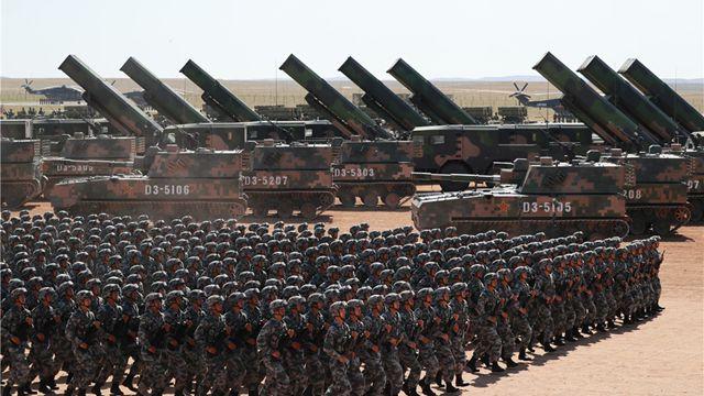 大国の武器、朱日和軍事パレードのハイテク兵器