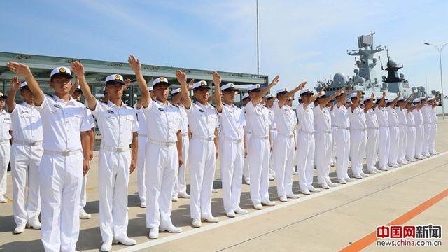 海軍戦闘艦艇、国際艦艇コンテストから凱旋