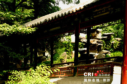 Театр в резиденции принца Гунциньван (Гунванфу)