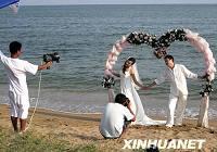 База снятия свадебных фотографий в Бэйдайхэ