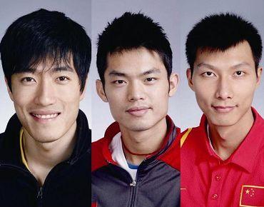 Десять красавцев из Олимпийской сборной Китая